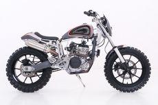Yamaha YZ 250 Scrambler, Kawin Silang Empat Pabrikan