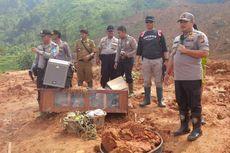 Masyarakat dan Polri Gelar Doa Bersama di Lokasi Longsor Sukabumi