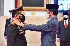 Jokowi Inaugurates Listyo Sigit Prabowo as New National Police Chief