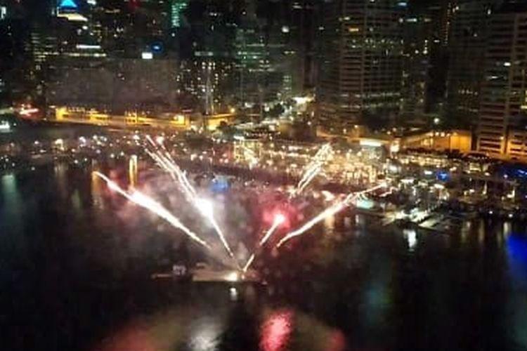 Fireworks di Darling Harbour