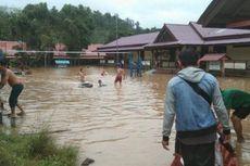 Dusun Tuhu Bengkayang Kalbar Dikepung Banjir, 38 Kepala Keluarga Terisolir