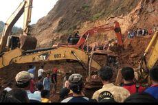Pertambangan Tanah Clay Longsor, 2 Pekerja Tertimbun 1 Tewas