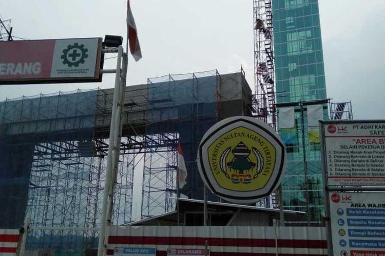 Kampus Baru Universitas Sultan Ageng Tirtayasa (Untirta)di Sindangsari, Kota Serang, Banten, Kamis (26/12/2019)
