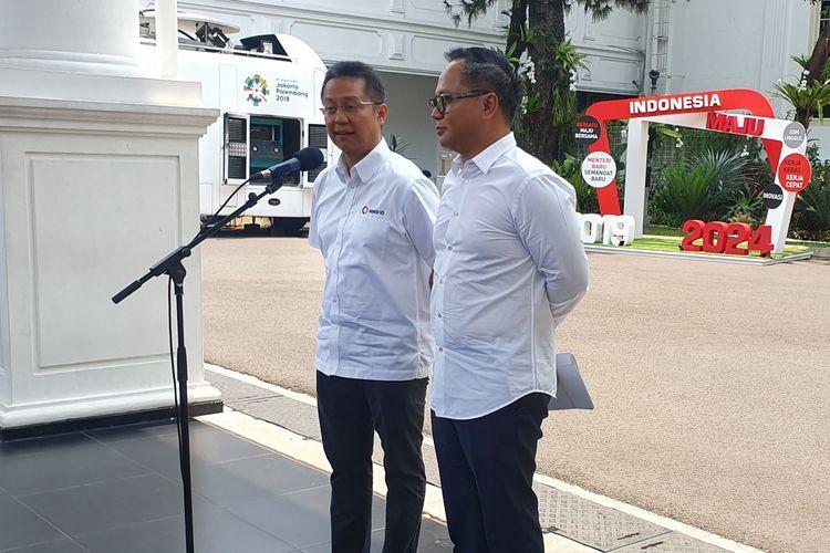 Kartika Wiryoatmojo dan Budi Gunadi Sadikin menjadi wakil menteri BUMN.