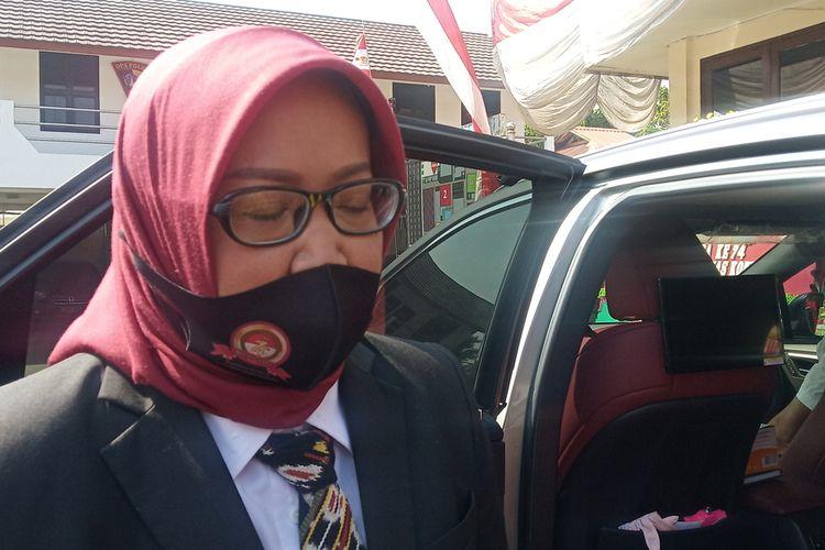 Bupati Bogor Ade Yasin saat ditemui usia menghadiri HUT ke-74 Bhayangkara di Mapolres Bogor, Cibinong, Kabupaten Bogor, Jawa Barat, Rabu (1/7/2020).