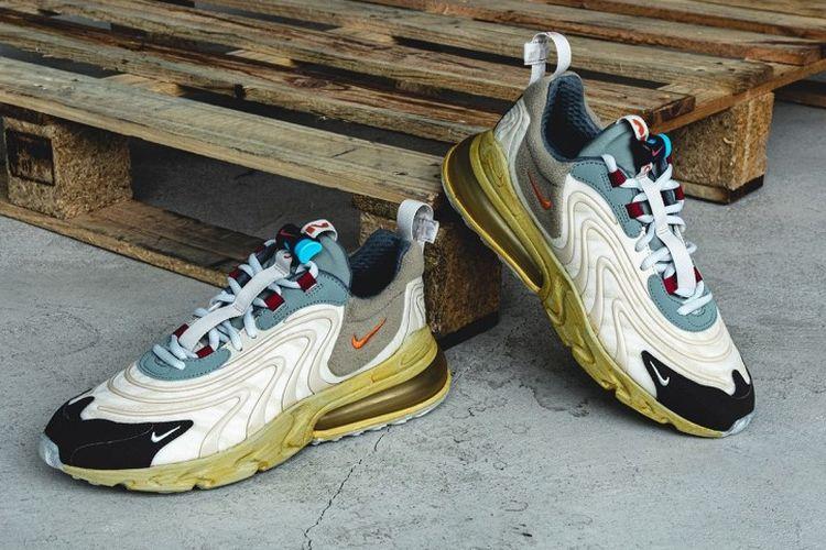 Nike x Travis Scott Air Max 270 React Cactus Trail