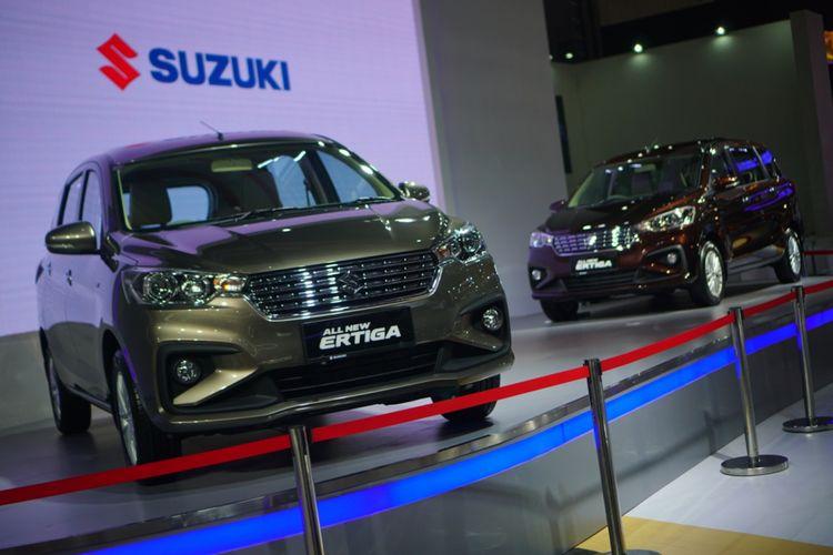 All New Ertiga diperkenalkan Suzuki pertama kalinya di IIMS 2018 Kamis (19/4/2018)