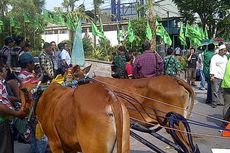 Pintu Masuk Muktamar PPP Surabaya Diblokade Massa Suryadharma Ali