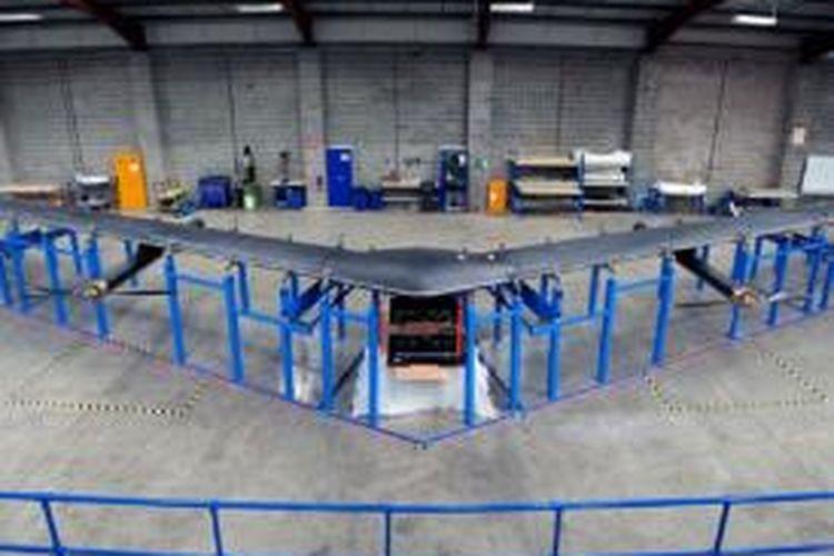 Aquila, drone pembawa wi-fi milik Facebook