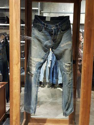 Nudie Jeans Selvage LAB
