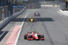 F2 GP Azerbaijan, Sean Gelael Raih Poin di Sirkuit Baku