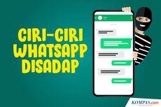 INFOGRAFIK: Ciri-ciri WhatsApp Disadap