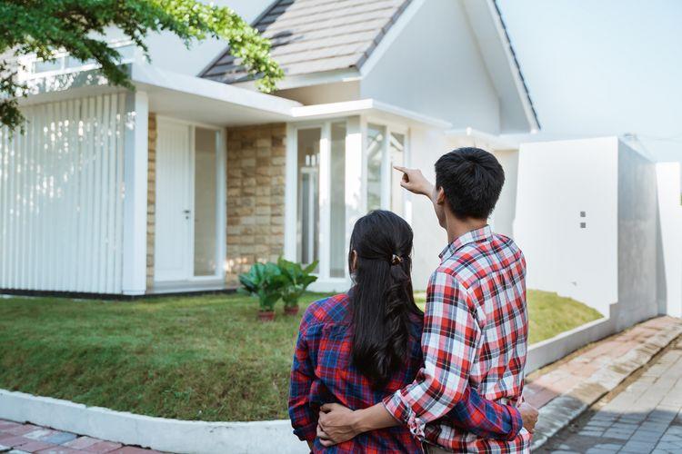 ilustrasi membeli rumah