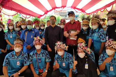 Nadiem Kujungi SD Negeri di Kota Sorong Papua, Guru: Terima Kasih, Mas Menteri...