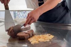 Menikmati Wagyu Teppanyaki Pertama Dunia di Ginza Jepang