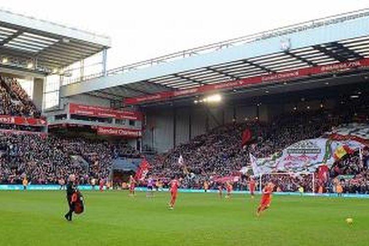 Markas Liverpool, Anfield, Liverpool, Inggris. \