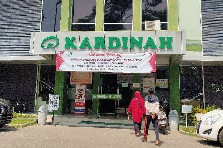 RSUD Kardinah Kota Tegal, Jawa Tengah.