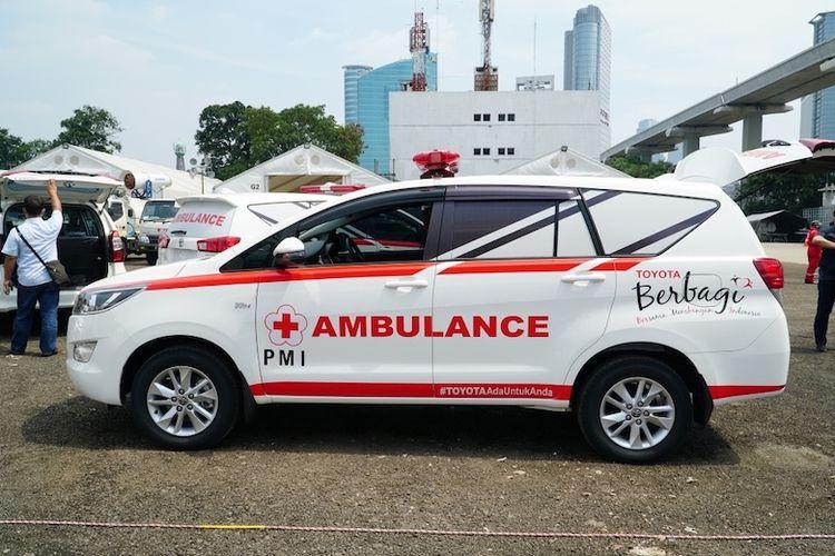 Ambulans modifikasi dari Kijang Innova (Dok. Toyota)