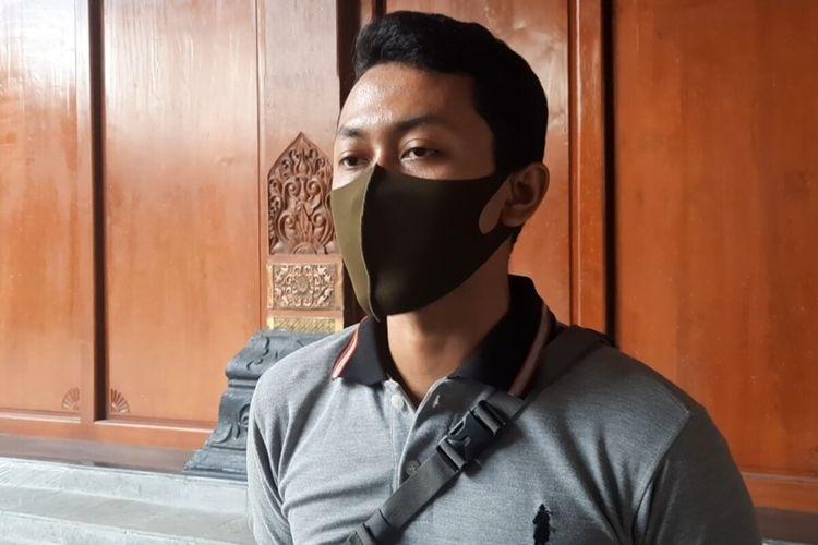 Koordinator balap lari Solo, Pamungkas (19) ditemui di Balai Kota Solo, Jawa Tengah, Selasa (22/9/2020).