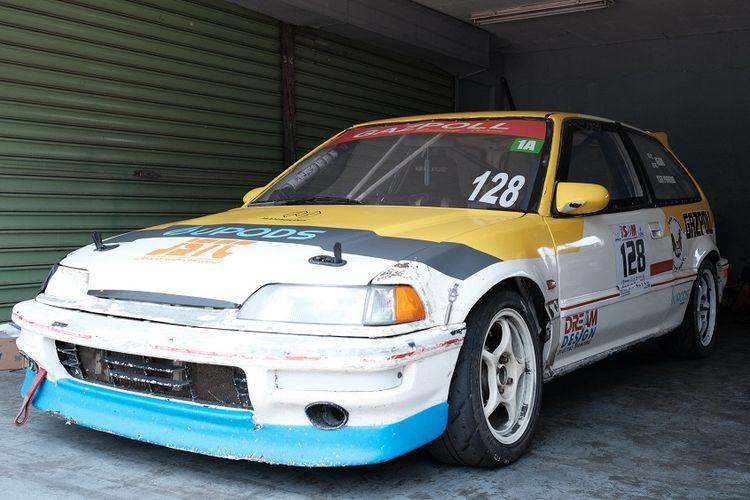 Honda Civic Wonder jadi salah satu mobil lawas yang ikut dalam balap mobil retro