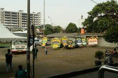 Sempat Dicopot, Garis Polisi Dipasang Lagi di Terminal Kampung Melayu