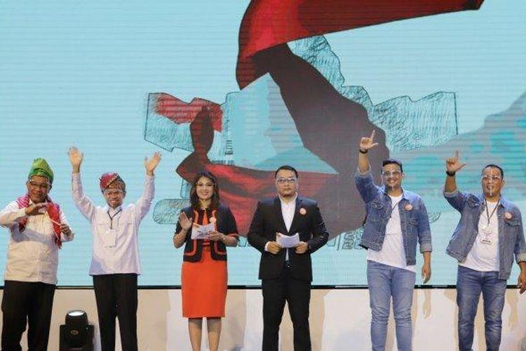 Debat kandidat pertama pilkada Medan, Sabtu (7/11/2020) lalu.