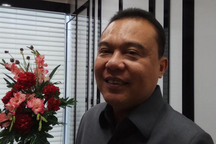 Wakil Ketua Umum DPP Gerindra, Sufmi Dasco Ahmad mengatakan bahwa ia tak bisa menggaransi partainya akan tetap bertahan menjalin koalisi dengan Partai Keadilan Sejahtera (PKS) di Pilkada Jabar 2018. Jakarta, Selasa (19/9/2017).