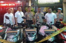 Kronologi Penangkapan Komplotan Curanmor Spesialis Motor Matic di Tamansari