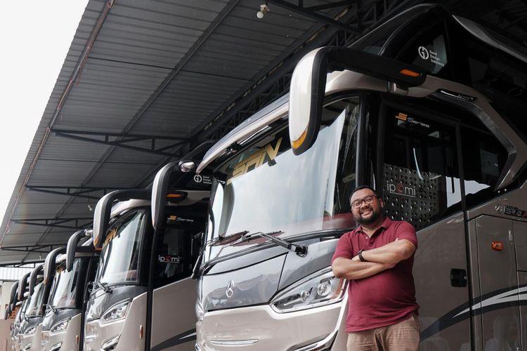 Mobil Lubricants dan IPOMI memberikan safety kit kepada seluruh pengelola angkutan umum bus