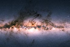 Peta Terlengkap Galaksi Bima Sakti Dirilis, Hasilnya Menakjubkan