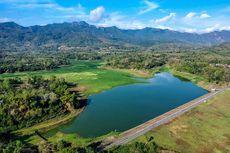 Waduk Tandon Wonogiri Surut, Padang Rumputnya Ramai Dikunjungi Warga