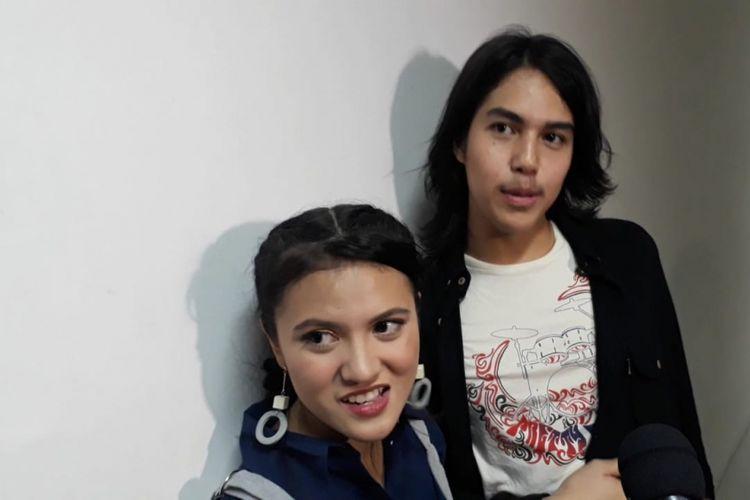 Marsha Aruan dan El Rumi saat ditemui di kawasan Ancol, Jakarta Utara, Kamis (23/8/2018) malam.