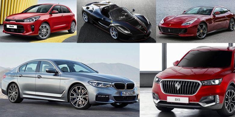 Desain mobil terbaik 2017