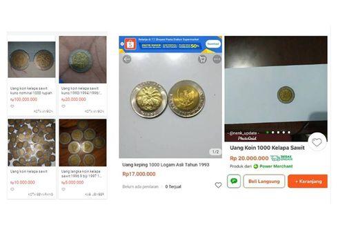 Unggahan Viral Uang Koin Kelapa Sawit Dijual hingga Rp 100 Juta, Apa Memang Istimewa?