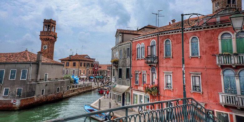 Kota Venesia di Italia