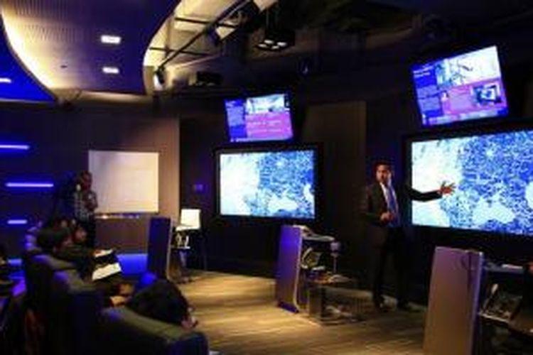 Peluncuran Cybercrime Satellite Center di Singapura