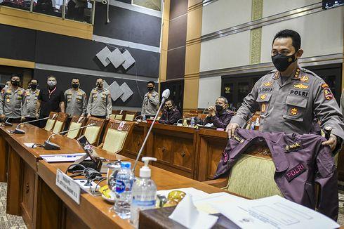 Rapat Paripurna DPR Penetapan Listyo Sigit sebagai Kapolri Terpilih Dihadiri 342 Anggota