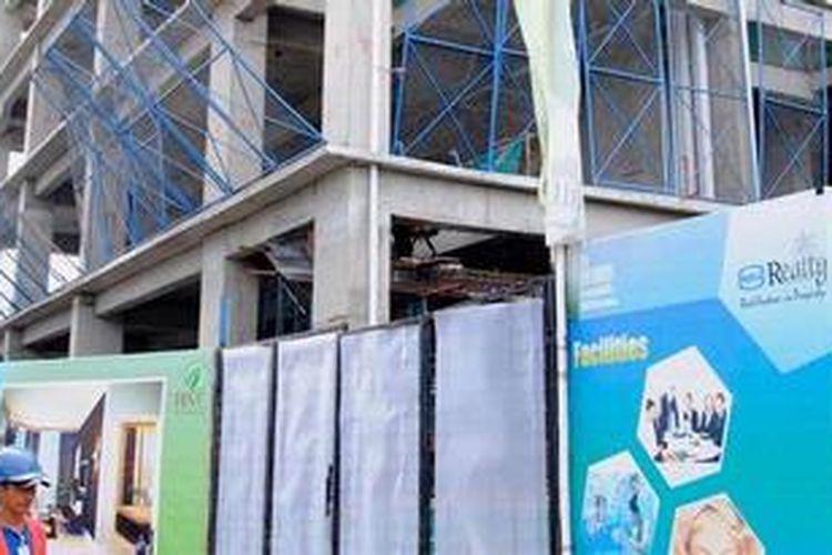 Salah satu proyek mixed use building yang dikembangkan Wika Realty di kawasan Cawang, Jakarta Timur yakni The Hive  Tamansari.