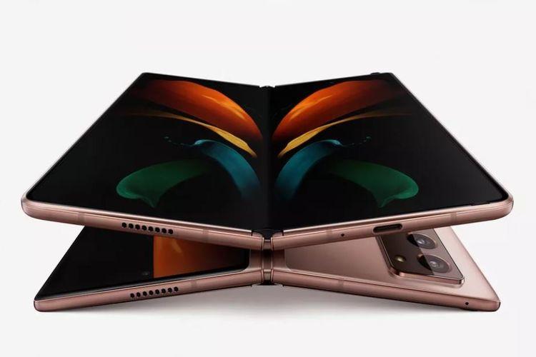 Ilustarsi Galaxy Z Fold 2.