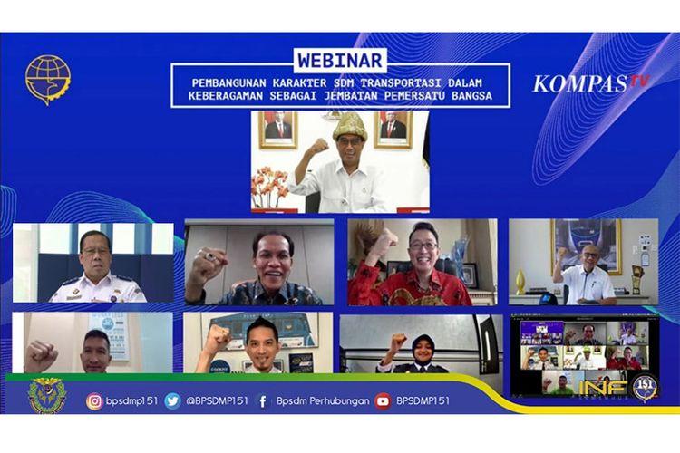 Webinar Nasional Transportasi Merajut Keberagaman episode ke-5 diharapkan mampu mampu mengobarkan semangat Nasionalisme seluruh lapisan masyarakat Indonesia.