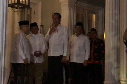 Jokowi-Ma'ruf Sampaikan Pidato atas Putusan MK di Halim Perdanakusuma