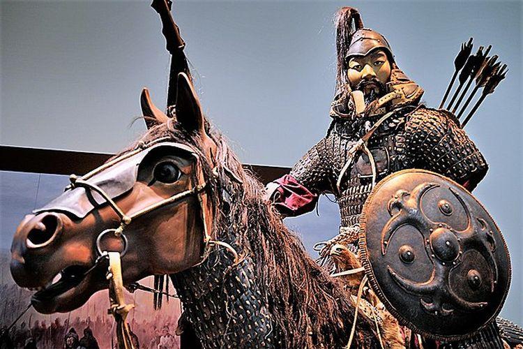 Ilustrasi prajurit Mongol. [The Art Science Museum Singapore Via World History]