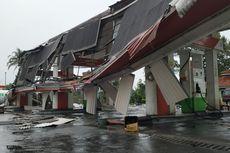 Kesaksian Petugas SPBU Saat Puting Beliung Landa Sukabumi, Angin Kencang 15 Menit, Atap Berjatuhan