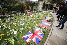Berduka Atas Pangeran Philip, Warga Inggris Kirim Karangan Bunga dari Seluruh Negeri