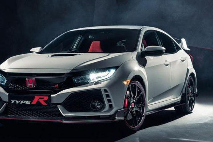 Honda Civic Type R terbaru hadir di Geneva Motor Show 2017.