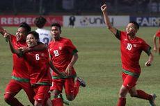 Indonesia U-19 Ditahan Pra-PON Jabar