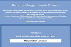 [HOAKS] Link Pendaftaran Kartu Prakerja Gelombang 12 Dibuka