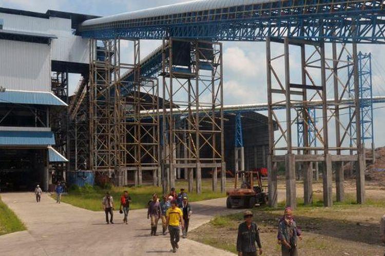Pabrik gula PT KTM yang berada di Kecamatan Ngimbang, Kabupaten Lamongan.