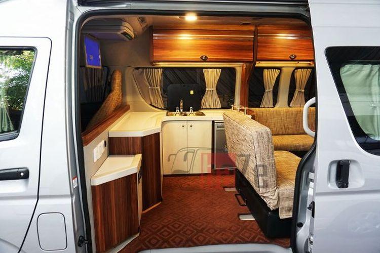 interior motorhome karoseri