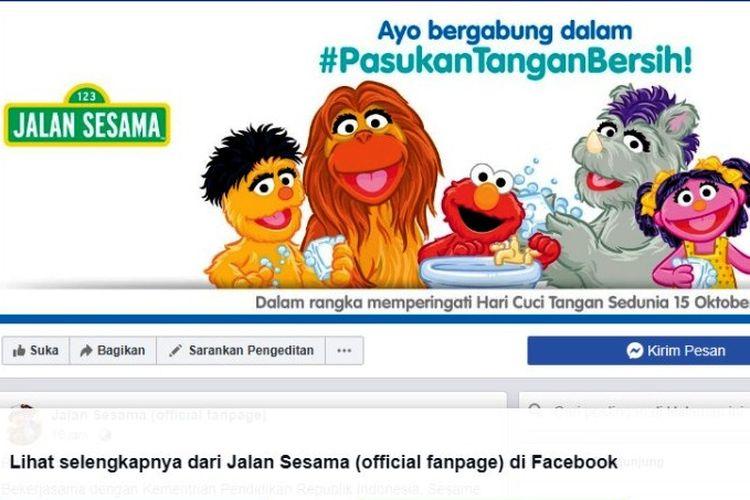 Tangkapan layar akun Facebook Jalan Sesama.